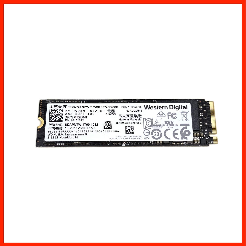 SSD M2 PCIe 2280 WD SN720 NVMe – 256GB-512GB
