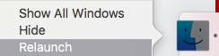 Khắc phục lỗi mục yêu thích không hiển thị trên macOS
