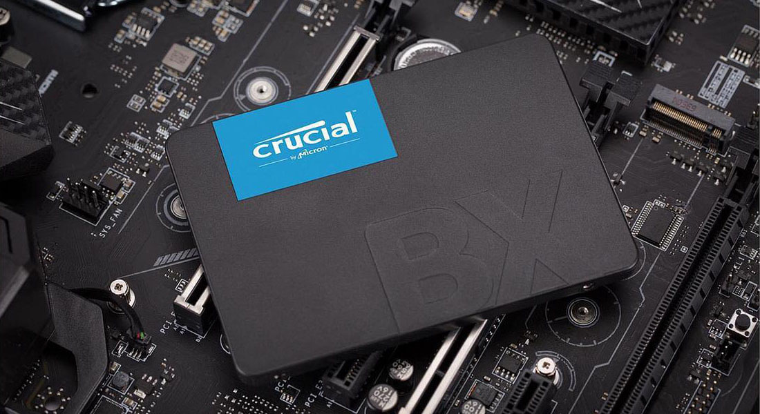 Ổ cứng SSD 120GB Crucial BX500 2.5-Inch SATA III